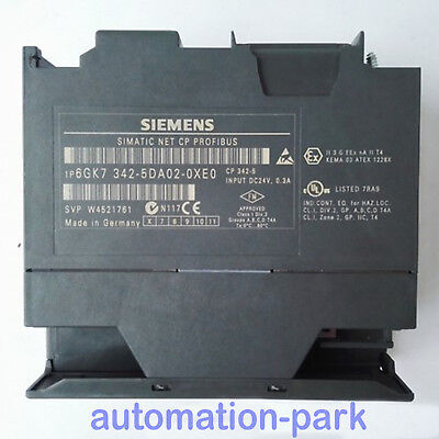 1 PC USED SIEMENS 6GK7342-5DA02-0XE0 Automation Plc Module Industry