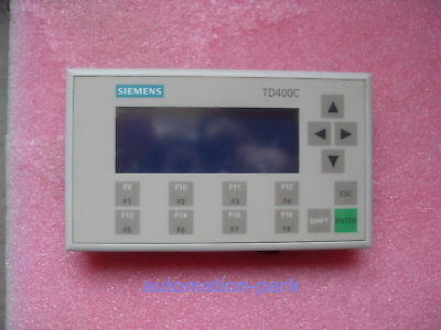 1 PC Used Siemens TD400C 6AV6 640-0AA00-0AX0 tested in good condition