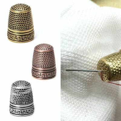 Finger Thimble Classical Hard Protector Anti-slip Metal Sewing Tool Good Quality