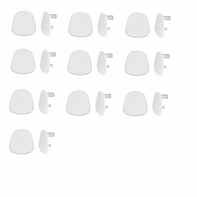 10 X Wall Plug Socket Safe Blank Cover Cap Electric Main Baby Child Protect New