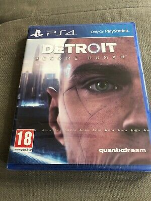 Detroit: Become Human (PS4) UK New Sealed Fast Dispatch!
