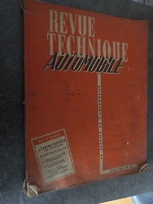Ancien Guide Revue Technique Camion Citroen T 45 55