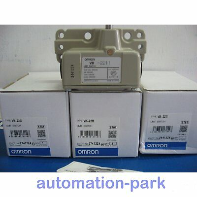1PC NEW IN BOX Omron Limit Switch VB-2211 One year warranty