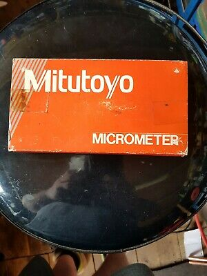 Mitutoyo Outside Micrometer 50-75mm