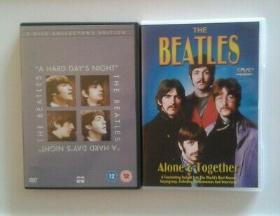"""The Beatles """"A Hard Day's Night"""" / Alone & Together Dvds"""