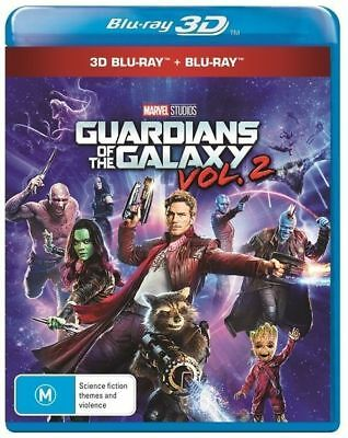 Guardians Of The Galaxy : Vol 2 (3D+2D Blu-ray) (Region ALL)