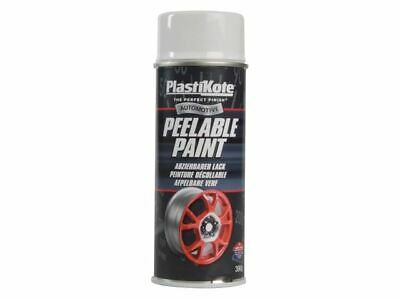 PlastiKote - Peelable Paint White Gloss 400ml