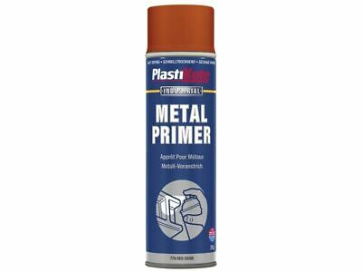 PlastiKote - Metal Primer Spray Oxido Rojo 400ml