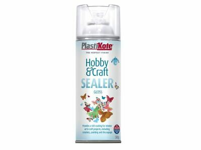 PlastiKote - Sellador Hobby & Craft Spray Clear Gloss 400ml