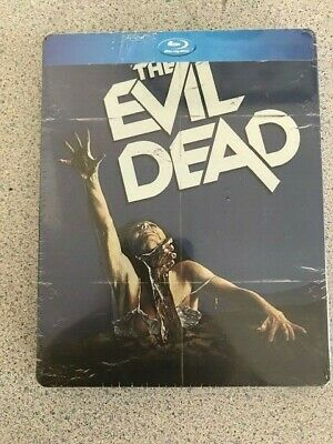 The Evil Dead (Blu-ray Disc, 2014, SteelBook) Exclusive Brand New factory sealed