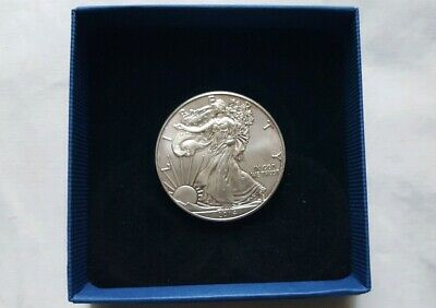 2014 AMERICAN SILVER 1oz LIBERTY EAGLE $1 ONE DOLLAR COIN 38mm