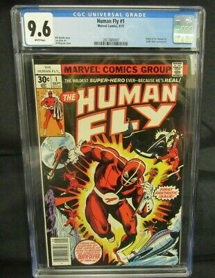 Human Fly #1 (1977) Bronze Age 1st Issue Origin CGC 9.6 CE353