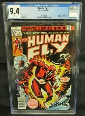 Human Fly #1 (1977) Bronze Age 1st Issue/ Origin CGC 9.4 CE356