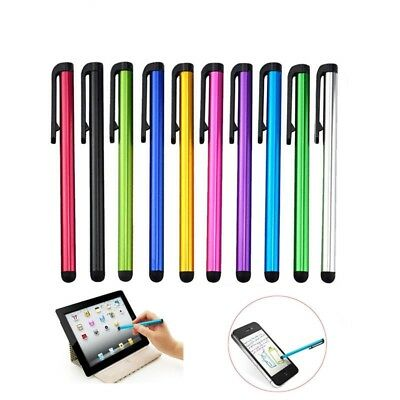 10X Metal Stylus Screen Touch Pen For Iphone Ipad Tablet Pc Samsung Htc GVUS