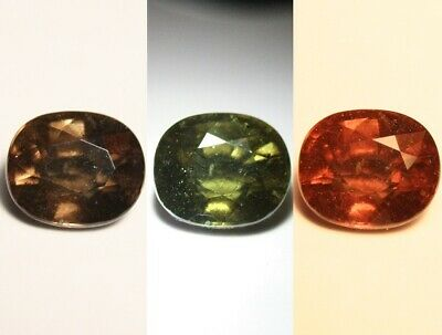 2.02ct Colour Change Garnet - Custom Cut Gem with Rare Superb Colour Change