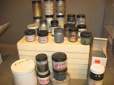 Large Collection Of Finger Print Powders And Supplies