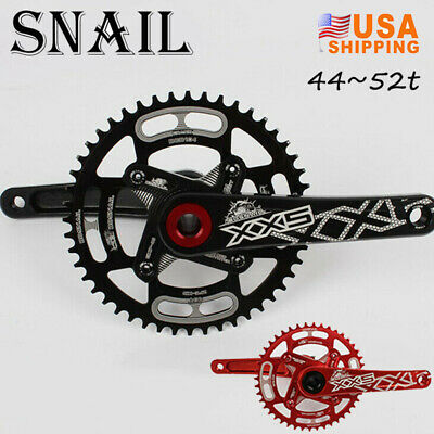 44/46/48/50/52T MTB Bike GXP Crank 170mm Crankset 104bcd Narrow Wide Chainring
