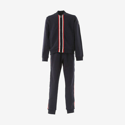 Moncler for Kids 'Completo Maglia' Boys Tracksuit with Stripes - Navy