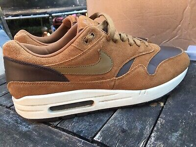 best website f836a 26ba2 Nike Air Max 1 Premium LTR Brown Ale Size 11 Uk Mens Trainers 97 95 TN