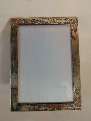 GREAT VINTAGE STERLING SILVER PHOTOGRAPH PICTURE FRAME by WEBSTER CO. of MASS
