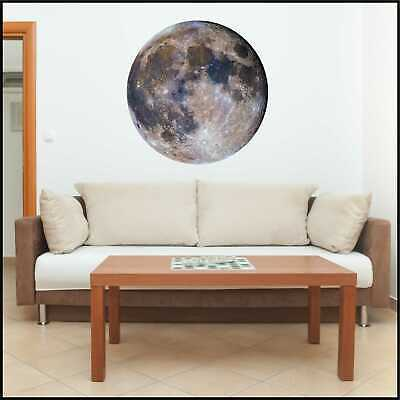 Full Moon Wall Art - Lunar Eclipse - Removable Decal - Astronomy - Space Decor