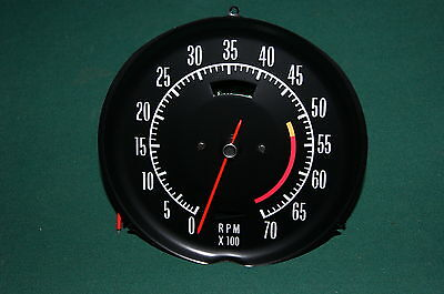 Corvette ELECTRONIC tachometer, ALL NEW 68-74 ready to install