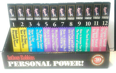 Anthony Robbins Personal Power Course 12 Volume 24 Audio Cassette