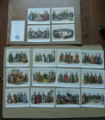 Costumes Ottoman Empire Turkish Prints From Original 19th Century by Arif Pasa