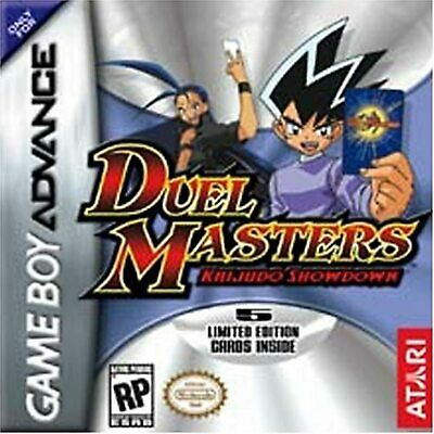 Duel Masters 2: Kaijudo Showdown For GBA Gameboy Advance Action Game Only 5E