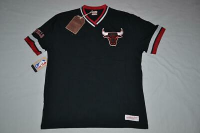 Mitchell & Ness Overtime Win Vintage Tee  CHICAGO BULLS  TSHIRT ALL SIZES