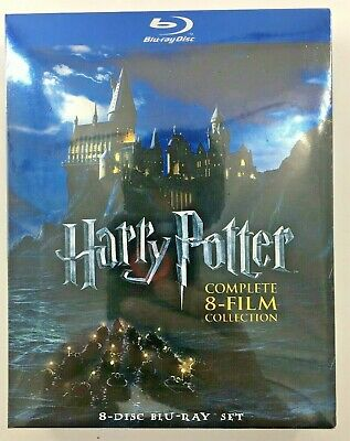 Harry Potter: Complete Blu-ray Collection 8-Disc Movie Set Sealed Free Shipping