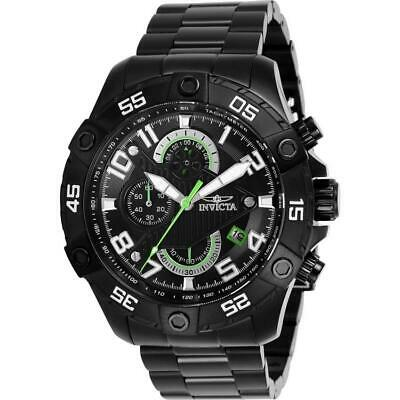 Invicta S1 Rally 26101 Men's Black Ion-Plated Chronograph Watch