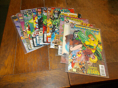 New Titans (1984 series) - 9 iss 0 + 115 - 121 + An11 + 3 extras DC 1994 Ave VFN