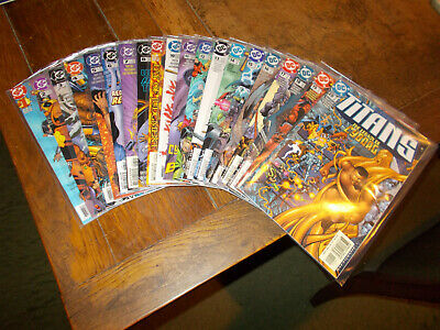 Titans (1999 series) - Complete set 50 iss 1-50 + An1, SFO 1-2 DC 1999 Ave VFN+
