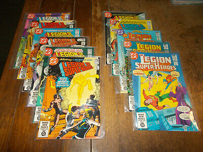 Legion of Super-Heroes - Full run 11 issues 272 - 282 DC 1981 Ave VFN-NM