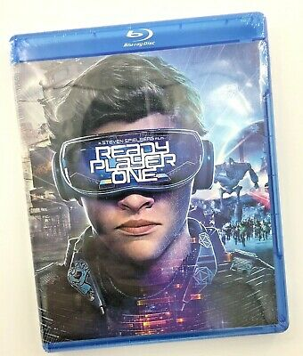 Ready Player One Movie (Blu-ray) FREE Shipping Brand New & Sealed
