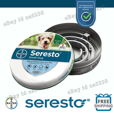 Bayer Seresto Flea and Tick Collar for Cats,New Sealed Collar-8 Month Protection