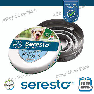 Bayer Seresto Flea and Tick Collar for Small Dog ,New Sealed Package--Authentic