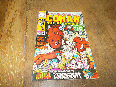 Conan the Barbarian #10 - Marvel 1971 Bronze Age US 25c FN