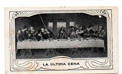 LA ULTIMA CENA - ESTAMPA RELIGIOSA 87x52mm