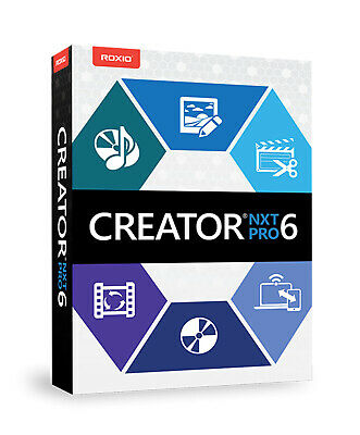 Roxio Creator NXT Pro 6  Full Version Lifetime License Key Email Delivery