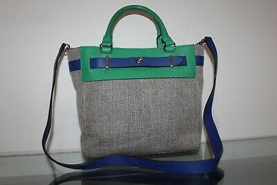 047aaf49d1d2 KATE SPADE GRAY Black Leather Cross Body Handbag Authentic - $65.00 ...