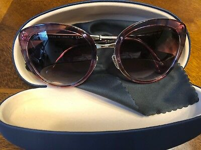 ca74377868 Chanel Cat Eye Sunglasses 4206C466 s1 Rose Colored Multi-Print