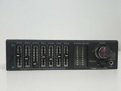 realistic equalizer booster 12 1865 $99 99 picclick