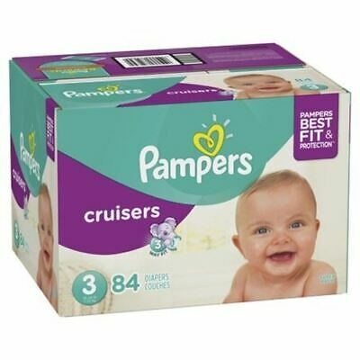 2009 First Edition Vintage Pampers Cruisers Diapers Size 7 RARE