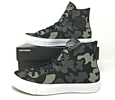 8350345c873b Converse Chuck Taylor All Star II Hi Reflective Camo Men s Sneakers Sz  (151157C)