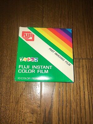 Fuji Fi-10 Instant Color Prints 10 Pack Exp 10-1984 Extremely Rare Japan Sealed