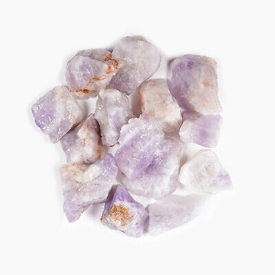 """Crystal Allies 3lb Wholesale Rough Purple Amethyst Stones from Brazil - Large 1"""""""