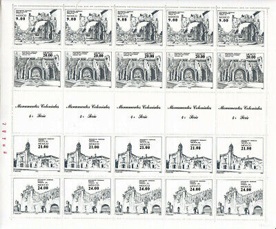 Mexico  Full Sheet  <Colonial  Monuments> 1338-41  1983 (A812)