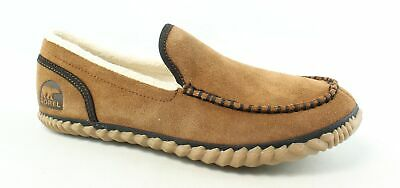 9a9dddc6189 SOREL Mens Dude Moc Grizzly Bear Moccasin Slippers Size 10.5